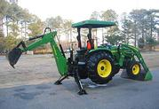 2004 John Deere 4710 TLB 4WD Many Attachments = $3, 4OO US =