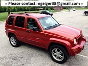 2002 Jeep Liberty Limited Pearl Red 3.7L V6 4WD