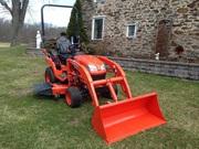 =$4, 275=2013 Kubota BX2370 4x4 Tractor,  Mower,  Loader