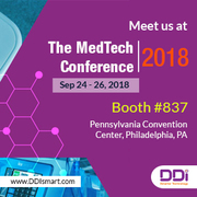 DDi to Exhibit at MedTech Conference 2018